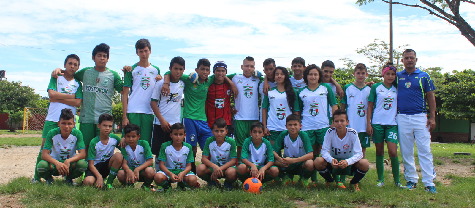 Banner fundación equipo de futbol